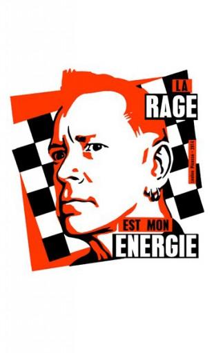 la rage est ton énergie